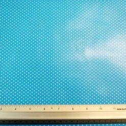 turquoise PVC Tabling Fabric Pin spot
