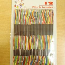 Embroidery Thread Packets Variegated Rainbow