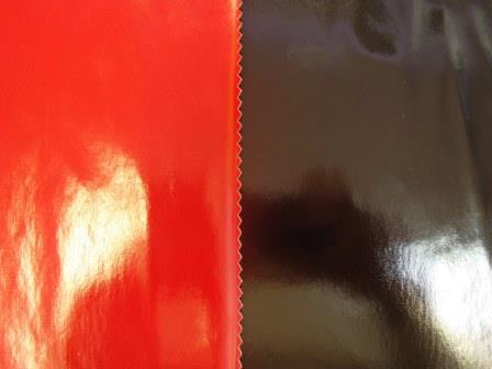 pvc fabric plain colours