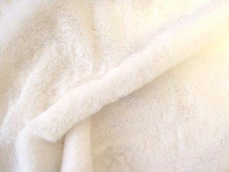 faux fur premier plush white