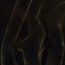 faux fur premier plush black