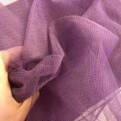 aubergine dress net