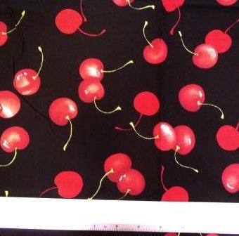 Ripe Cherries Black