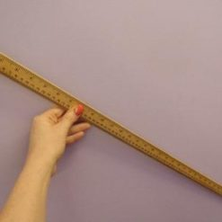 Wooden Metre Ruler