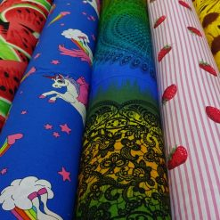 All Patterned Fabric