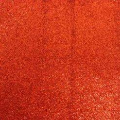 red glitter felt fabric