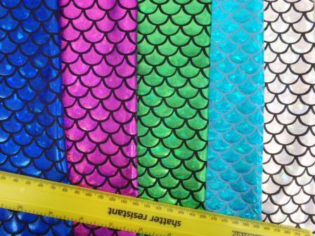 Fish Scales Mermaid Tails