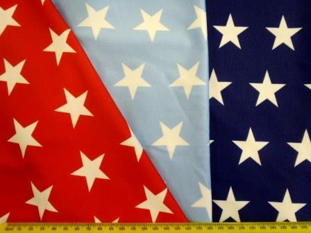 Lycra Patterned Fabric Star Struck