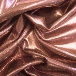 Rose gold foiling Lycra