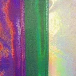 Lycra Hologram Fabric Translucent