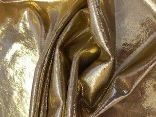 gold foiling lycra