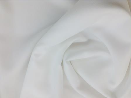 white trevira suiting