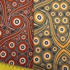 Lycra Patterned Fabric Zambezi