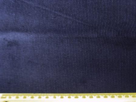 Corduroy Fabric 11 Whale Cord navy