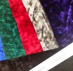 spandex crushed velvet