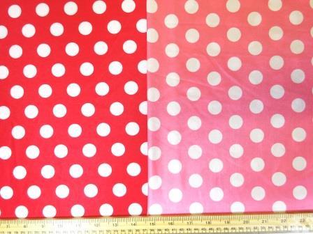 Lycra Patterned Fabric Mini Mouse Spot