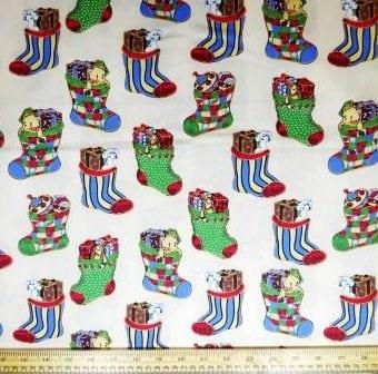 Christmas Stockings Cream