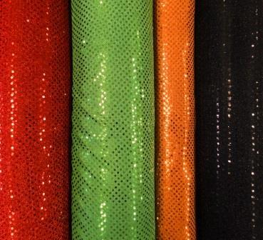 Sequin Jersey Fabric Pin Spot Lurex
