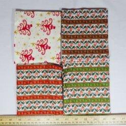 patchwork fat quarters regal stripe