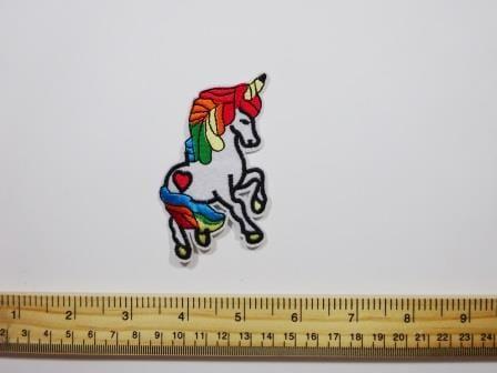 Unicorn Mythical Sew On Motif