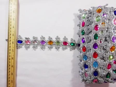 Jewel Trimming Princess Jewelsilver