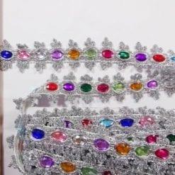 Jewel Trimming Princess Jewel silver