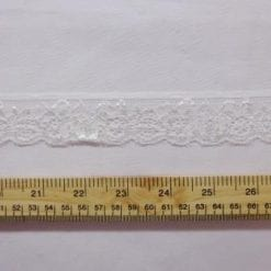 Lace Trimming Stretch Code 658 Ivory