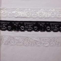 Lace Trimming Stretch Code 658