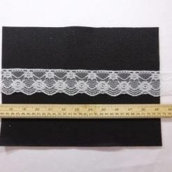 Lace Trimming Code 057 White