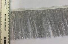 """Fringe Trimming Lurex Metallic 4"""""""