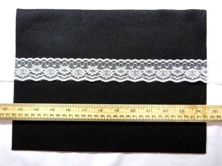 Lace Trimming Code 2100 White