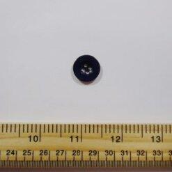 Black 1411 Buttons Size 28 Plastic