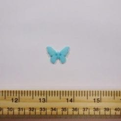 Turquoise Butterfly Buttons
