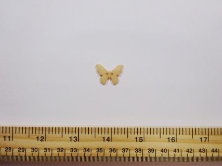 Beige Butterfly Buttons