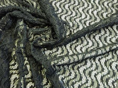 Black Lace Fabric Eleanor Wiggle