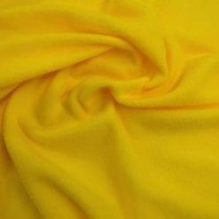 Yellow polar fleece