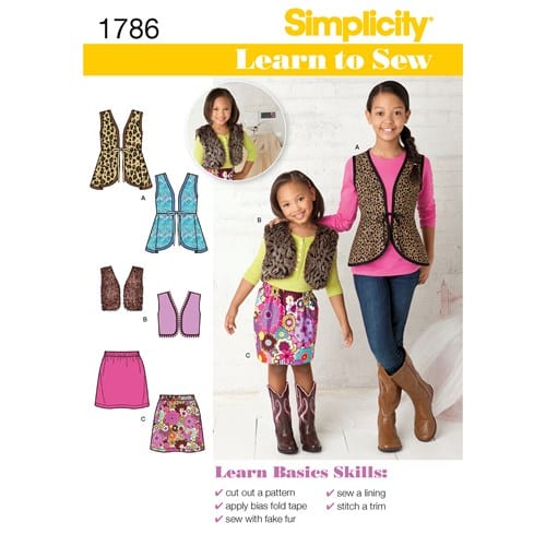 Simplicity Children's Sewing Pattern
