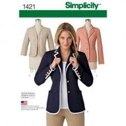 Simplicity Sewing Pattern 1421