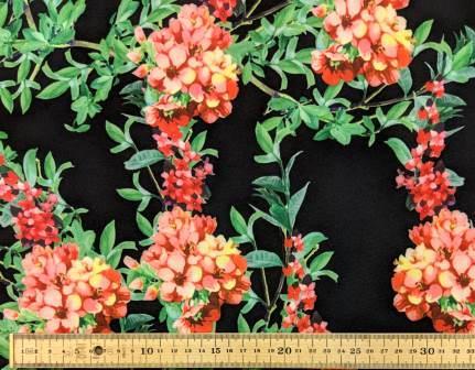 Scuba Jersey Fabric Japanese Summer