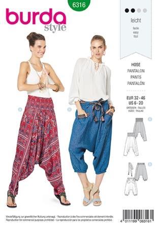 Burda Sewing Pattern 6316