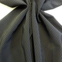 Pin Stripe Suiting Fabric Gangster Squad