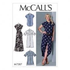 McCalls Sewing Pattern M7387