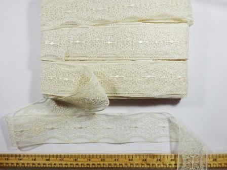 Lace Trimming Clara Cream