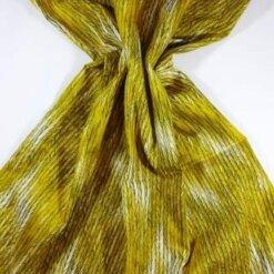 Cotton Fabric Bo Ho Herringbone Mustard
