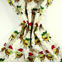Cotton Fabric Mince Pies cream