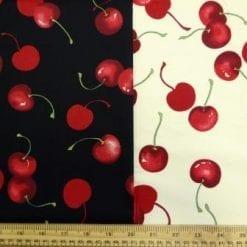 ripe cherries cotton