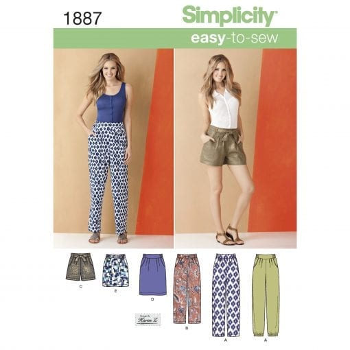 Simplicity Sewing Pattern 1887