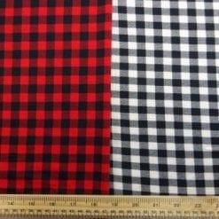 T-Shirting Fabric Hill Billie Checks