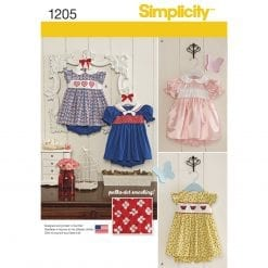 Simplicity Children's Sewing Pattern 1205