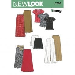 New Look Sewing Pattern 6762
